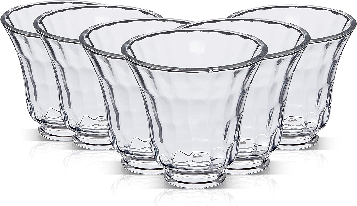 OhLectric OL-39742 Clear Cash special price Glass Bell Shade - Table 2 Inch La Arlington Mall ¼