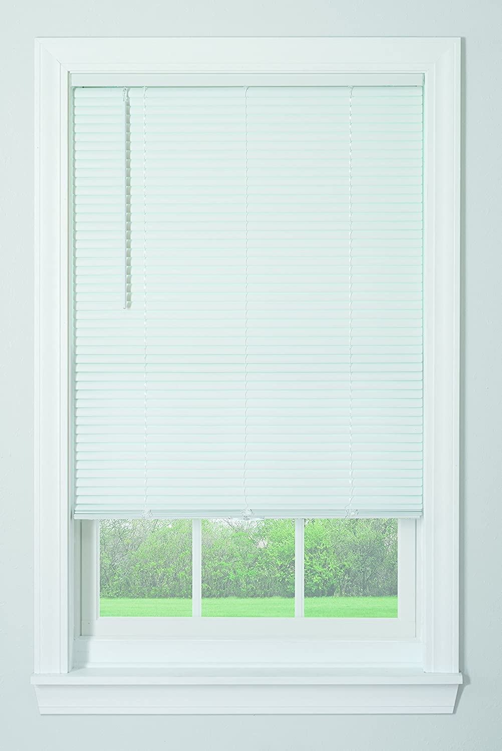 Amazon Com Bali Blinds 1 Vinyl Cordless Blind 36 X 64 White Home Kitchen