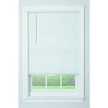 "Bali Blinds 1"" Vinyl Cordless Blind, 36"" x 64"", White"