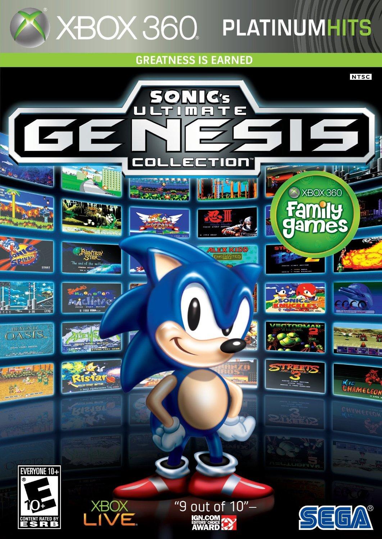 SEGA Sonics Ultimate Genesis Collection Xbox 360 vídeo - Juego (Xbox 360, E10 + (Everyone 10 +)): Amazon.es: Videojuegos