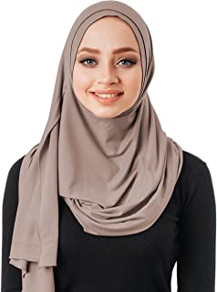No pins, cotton head scarf, instant hijab one piece, ready to wear muslim accessories for women
