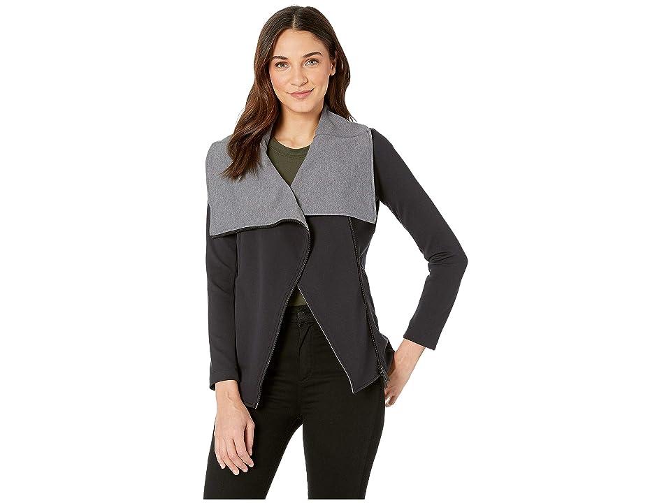 MICHI Lotus Jacket (Grey/Black) Women