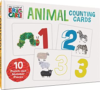 The World of Eric Carle Animals Counting Cards (Numbers Flash Cards for Toddlers, Toddler Animal Flash Cards)
