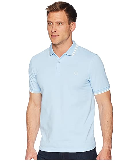 Shirt Perry Fred Tipped Perry Tipped Fred Shirt Twin Fred Perry Twin pFwA7