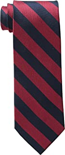 Bruno Piattelli Men's Club Stripe Silk Tie