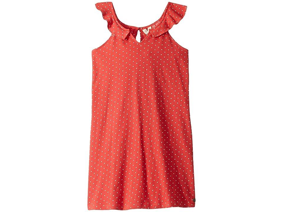 Roxy Kids Jungle Heart Dress (Big Kids) (Chrysanthemum Dots and Dots) Girl