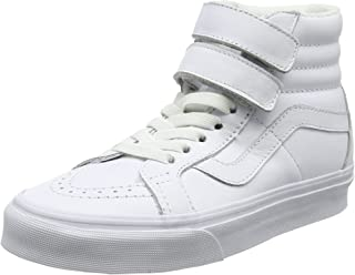 Vans Unisex Adults' Sk8-Hi Reissue V Trainers White Size: 8