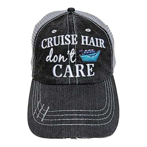 e128d96f Katydid Cruise Hair Don't Care Women's Trucker Hats Caps