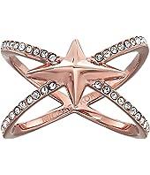 Michael Kors Starburst Pave X Ring
