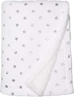 Rene Rofe Baby Kids' Little Newborn Plush Baby Blanket with Foil Print