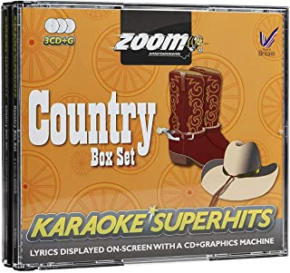 Zoom Country Karaoke Superhits