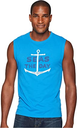 Seas The Day Smooth Muscle Tee