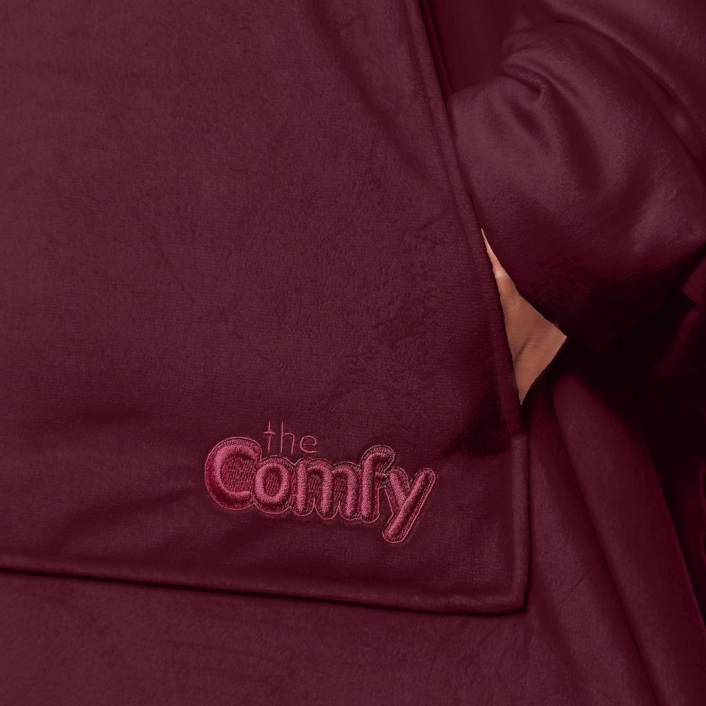 Calda Morbida di Diversi Colori Uomini THE COMFY: La Coperta Originale indossabile Adolescenti Adulti Donne Taglia Unica Accogliente