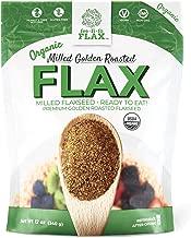 Fee Fi Fo Flax Organic Milled Golden Roasted Flax