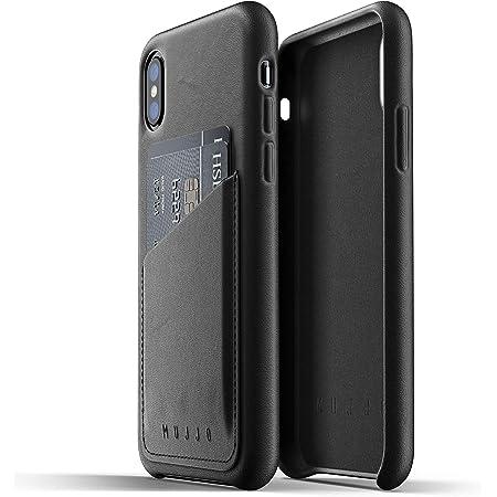 Mujjo Iphone Xs Leder Hülle Schwarz Premium Wallet Elektronik