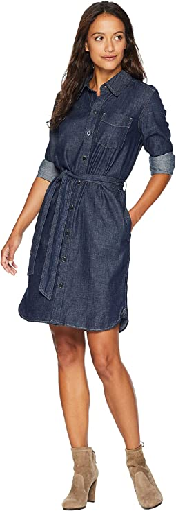 Petite Denim Shirtdress
