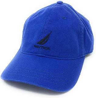 Men Adjustable Logo Hat Cap (Adjustable, Deep Blue)