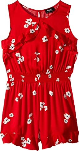 Tilly Ruffle Romper (Big Kids)