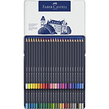 Faber-Castell Creative Studio Goldfaber Color Pencils - Tin of 48