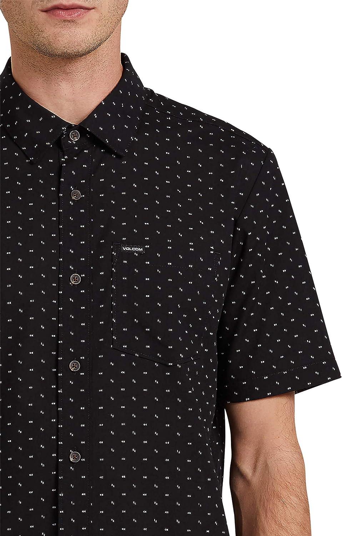 Volcom Mens Stallcup Short Sleeve Woven Shirt