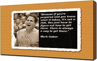 Mark Cuban Quotes 4 - Canvas Art Print