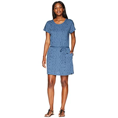 Jack Wolfskin Shibori Dress (Ocean Wave All Over) Women