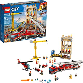 LEGO City Downtown Fire Brigade 60216 Building Kit, 2019 (943 Pieces)