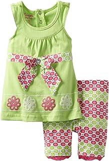 Nanette Baby Girls' 2 Piece Knit Shirt