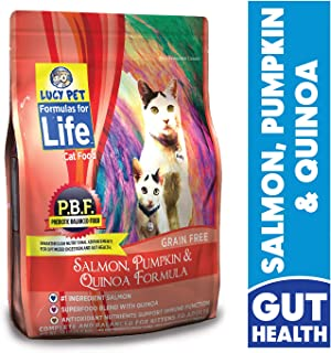 Lucy Pet Formulas for Life Salmon, Pumpkin and Quinoa Cat Food