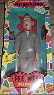 Talking Pee Wee Herman Doll with Poseable Arms and Legs