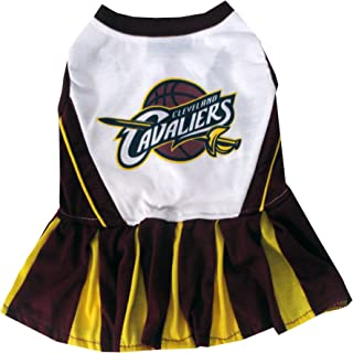 Pets First NBA PET Cheerleader. - Licensed Basketball Cheerleader for Dogs & Cats Available in 16 Basketball Teams & 3 Sizes Cute pet Outfit for All Sports Fans.