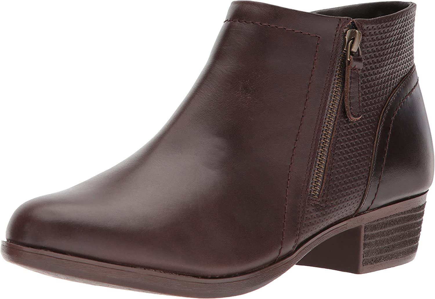 Cobb Hill Womens Oliana Panel Boot Ankle Boot