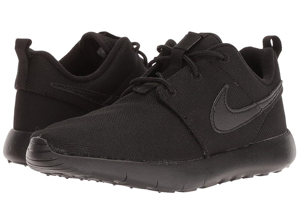 Nike Kids Roshe One (Little Kid) (Black/Black/Black) Boys Shoes