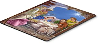 Caroline's Treasures APH5603MP The Wise Men at The Nativity Christmas Mouse Pad, Hot Pad or Trivet, Large, Multicolor