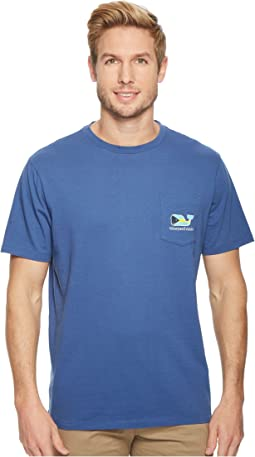Vineyard Vines - Short Sleeve Bahamian Flag Pocket Tee