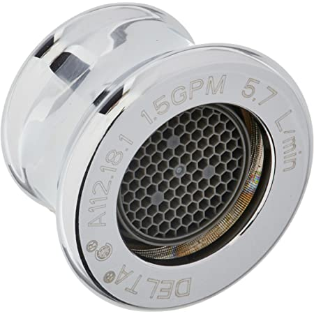 Chrome Delta Faucet RP6100 Aerator for 2.2 GPM