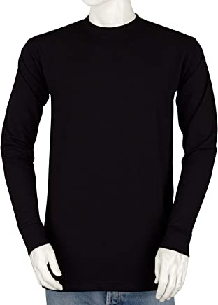 9ccb58a00395 Styllion Big and Tall Crew Neck Shirts for Men - Long Sleeve - Heavy Weight