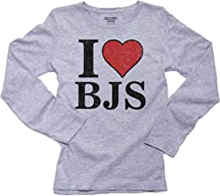 Hollywood Thread I Love Bjs - Big Red Heart Blow Jobs Women's Long Sleeve T-Shirt