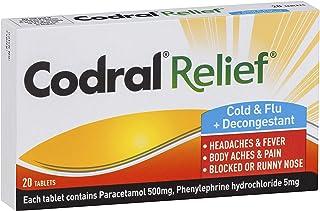 CODRAL CODRAL Relief Cold & Flu Tablets 20, 0.016 kilograms