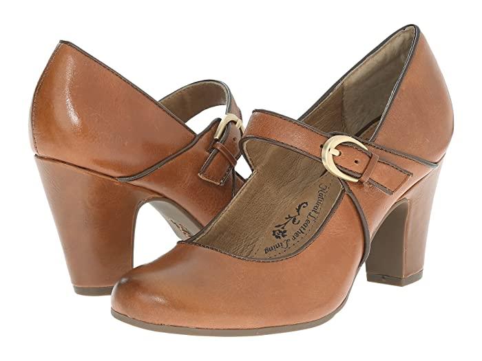 Art Deco Shoes Styles of the 1920s and 1930s Sofft Miranda Cork Montana High Heels $99.95 AT vintagedancer.com
