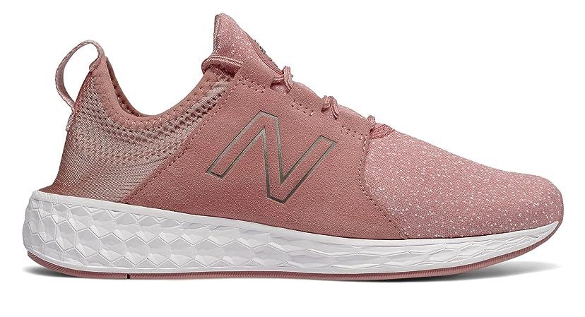 デモンストレーションと遊ぶオーラル(ニューバランス) New Balance 靴?シューズ レディースライフスタイル Fresh Foam Cruz Dusted Peach ピーチ US 9.5 (26.5cm)