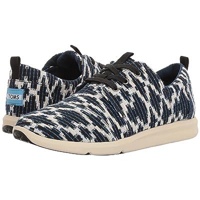 TOMS Del Rey Sneaker (Navy Tribal Jacquard) Women