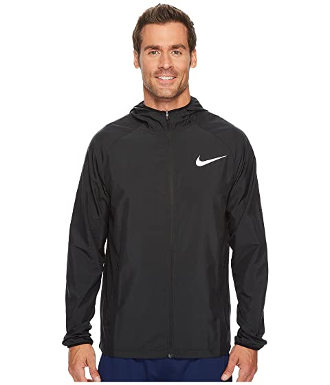ddf1e8f94118 Nike Essential Hooded Running Jacket at Zappos.com