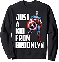 Marvel Avengers Captain America Just A Kid From Brooklyn Sweatshirt