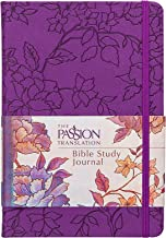 The Passion Translation Bible Study Journal: Peony (Imitation Leather) – Beautiful Journal for Studying Scripture, Perfect Gift for Confirmation, Easter, and More