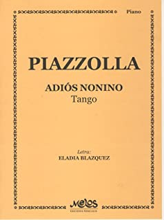 PIAZZOLLA - Adios Nonino (Tango) para Piano