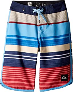 Quiksilver Kids Eye Scallop Boardshorts (Big Kids)