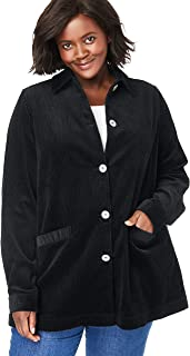corduroy jacket womens plus size