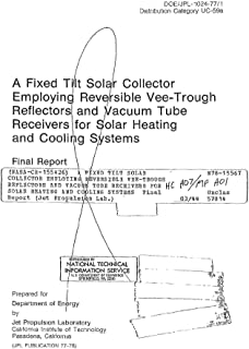 A fixed tilt solar collector employing reversible vee-trough reflectors and vacuum tube receivers for solar heating and cooling systems
