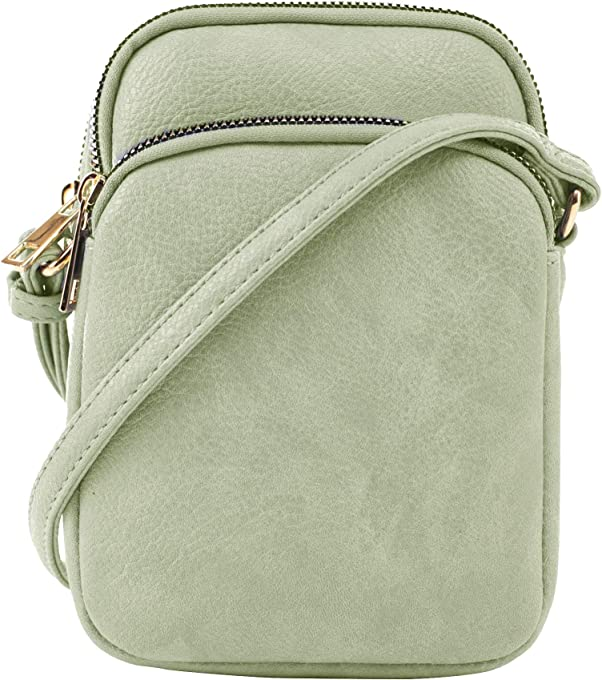 Mali + Lili, Josie Triple Zip Crossbody Bag